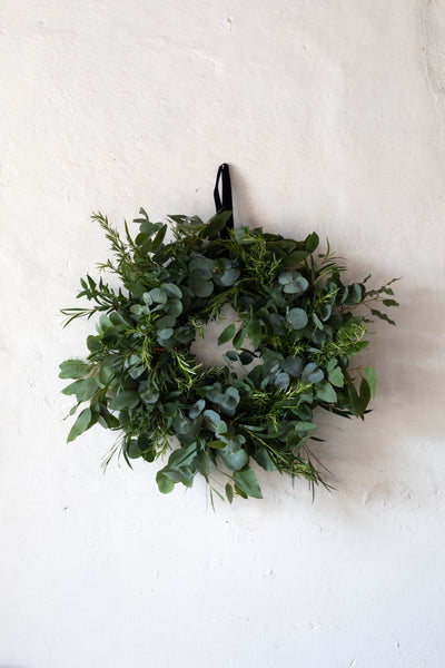 Irish Grown Foliage Wreath