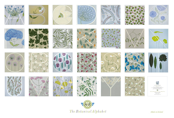 The Botanical Alphabet  - Cards