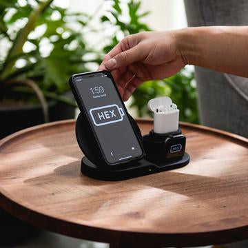 HEX Charging 3 in 1 Dock