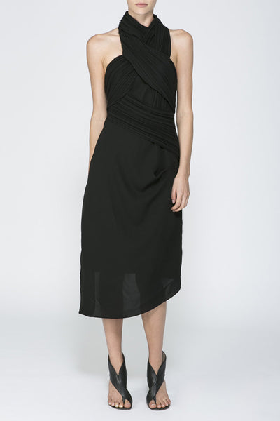 ACLER Duncan Dress Black