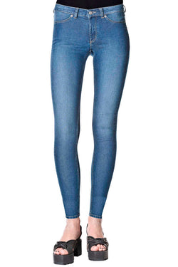 CHEAP MONDAY MID SPRAY(womenswear) available in MID BLUE