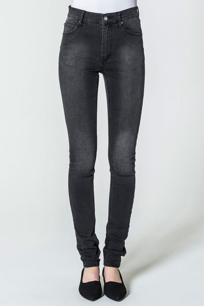 CHEAP MONDAY HIGH SPRAY(womenswear) available in BLACK SIN