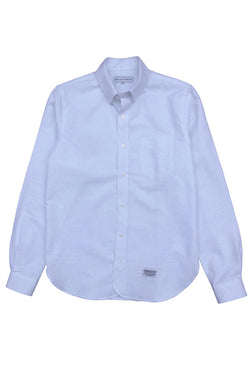 LIFE IS CONNECTED CLASSIC OXFORD SHIRT available in WHITE