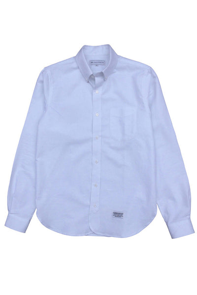 Life Is Connected Classic Oxford Shirt White