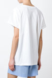 ETRE CECILE Envie Oversize T-shirt available in White