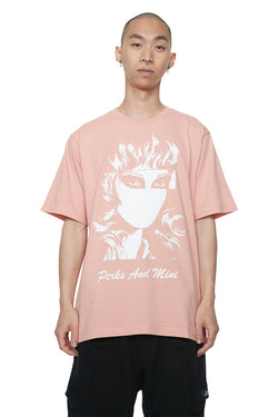 Perks And Mini (P.A.M.) Total Self S/S T-shirt Coral