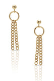 Petite Grand The Nile Earrings Gold