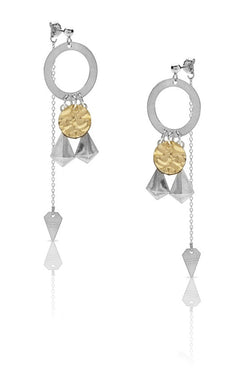 Petite Grand Mojave Earrings Silver / Gold