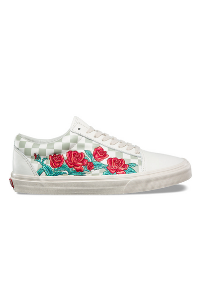 Vans Rose Embroidery Old Skool DX vans is available in Brisbane Queensland Australia at Violent Green Albert Street store #vans #vansclassicslipon #vansoldskool #vanshalfcab #vanssk8hi #vansshoes #vansfootwear #footwear #vansdealer #vansstockist #vansaustralia #vansbrisbane #vansqueensland #vansera #checkerboard #vanscso #shoes #streetwear #skate