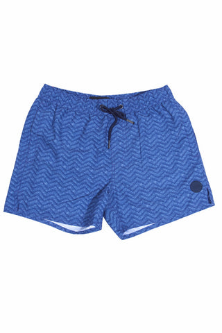 Native Youth Sand Ripple Swim Shorts Blue