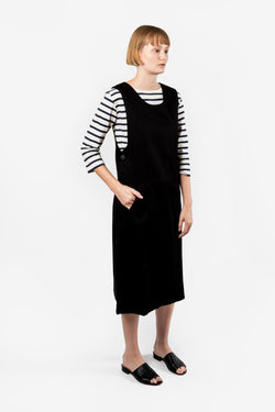Kowtow Fold Dress available in Black