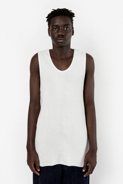Bukht Knit Tank Top Off White Bukht is available in Brisbane Queensland Australia at Violent Green Albert street store