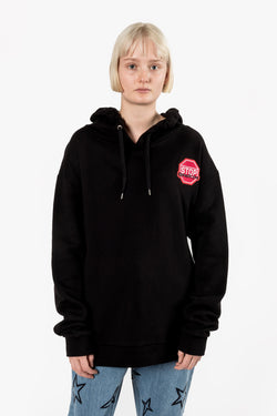 Etre Cecile U Turn Me On Hoodie Black ETRE CECILE IS AVAILABLE IN BRISBANE QUEENSLAND AUSTRALIA AT VIOLENT GREEN ALBERT STREET STORE