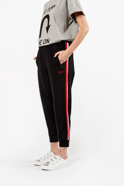 Etre Cecile Crop Track Pant Black Etre Cecile is available in Brisbane Queensland Australia at Violent Green Albert Street store