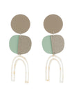 Bianca Mavrick Efira Earrings - Tan