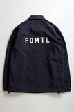Fdmtl Fundamental Luxury Agreement Coach Jacket Navy FDMTL FUNDAMENTAL LUXURY AGREEMENT is available in Brisbane Queensland Australia at Violent Green store #fdmtl #fundamentalluxuryagreement #sashiko #boro #vintagedenim #denim #madeinjapan #patchwork #indigo #indigodenim #fdmtldealer #fdmtlstockist #fdmtlaustralia #fdmtlbrisbane #fdmtlqueensland
