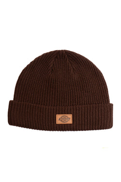 Dickies H.S. Original Slouch Beanie Dark Brown Dickies is available in Brisbane Queensland Australia at Violent Green Albert Street store