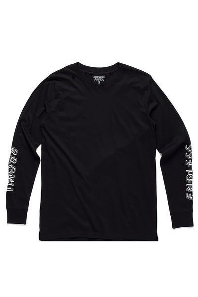 Endless Prowl Black Staple Long Sleeve Endless Prowl is available in Brisbane Queensland Australia at Violent Green Albert Street Store
