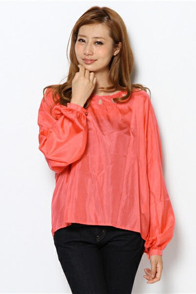 ALICE McCALL ACE BLOUSE APRICOT available in BLUSH