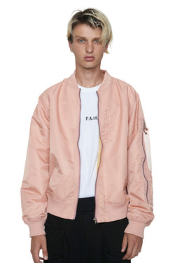 Perks And Mini (P.A.M.) U Bomber Jacket Salmon