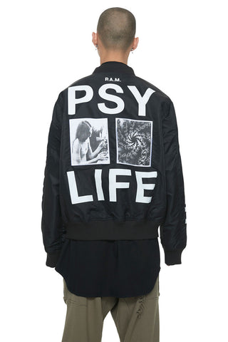 Perks And Mini (P.A.M.) Utopiates Bomber Jacket Black