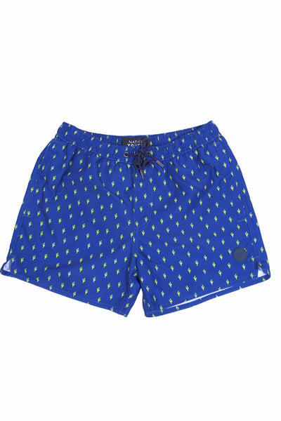 Native Youth Cacti Swim Shorts Navy