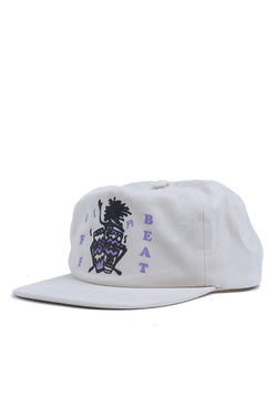 Jungles Off Beat Hat White Jungles is available in Brisbane Queensland Australia at Violent Green Albert Street store