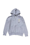 LIFE IS CONNECTED Now Showing Zip Up Hoodie Heather Grey