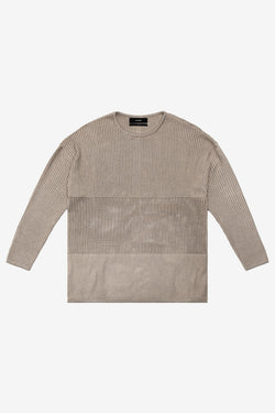 Stampd Terrain Sweater Long Sleeve Angora $315 on sale for $220
