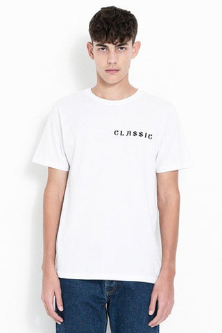 Soulland Gilles T-shirt with Print White