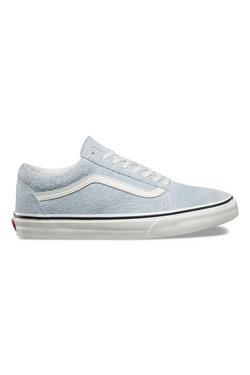 Vans Fuzzy Suede Old Skool available in Ballard Blue