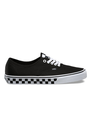 Vans Checker Tape Authentic Black White