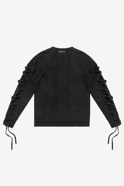 Stampd Harbor Sweater BLack $465 now on sale $299
