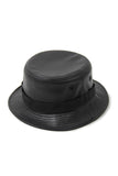 STAMPD LEATHER ASHES BUCKET HAT available in BLACK $219 now on sale $110