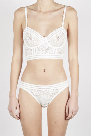 LONELY Agnes Tri Brief Ivory