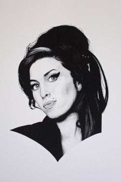 JARAD DANBY Amy Winehouse Print