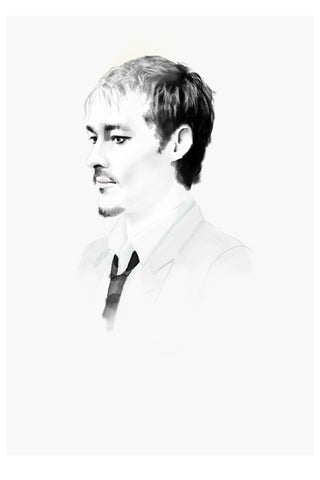 AND LIZZY DANIEL JOHNS ARTWORK
