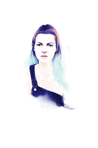 AND LIZZY KATE MOSS ARTWORK