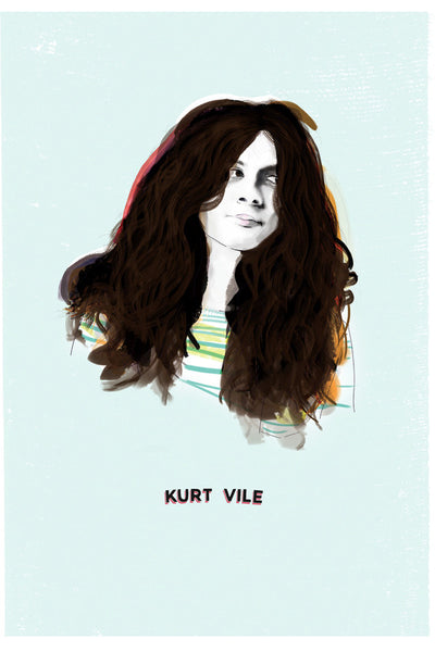 AND LIZZY-KURT VILE ARTWORK
