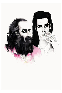 AND LIZZY-NICK CAVE AND WARREN ELLIS ARTWORK