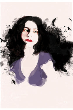 AND LIZZY-PJ HARVEY ARTWORK