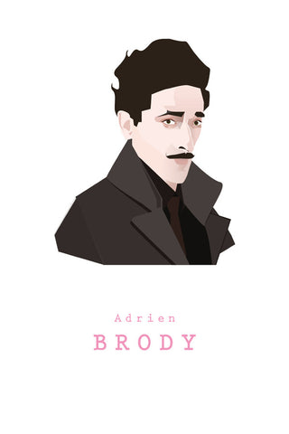 AND LIZZY-DIMITRI (Adrien Brody) ARTWORK