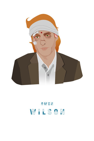 AND LIZZY-FRANCIS (Owen Wilson) ARTWORK