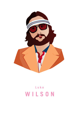 AND LIZZY-RICHIE TENENBAUM (Luke Wilson) ARTWORK