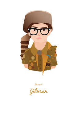 AND LIZZY-SAM #2 (MOONRISE KINGDOM) ARTWORK