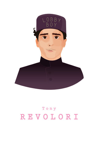 AND LIZZY-ZERO (Tony Revolori) ARTWORK