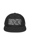 Born x Raised Mitchell And Ness Wireframe Nylon Hat - Black