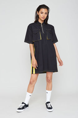 The Ragged Priest Boundary Dress - Black