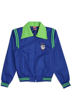 ILLEGAL CIVILIZATION Bowling Alley Jacket Blue