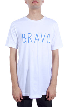 Life Is Connected Bravo Tee White